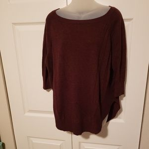 Express maroon sweater
